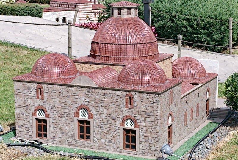 Konya Karatay Medresesi royaltyfria foton