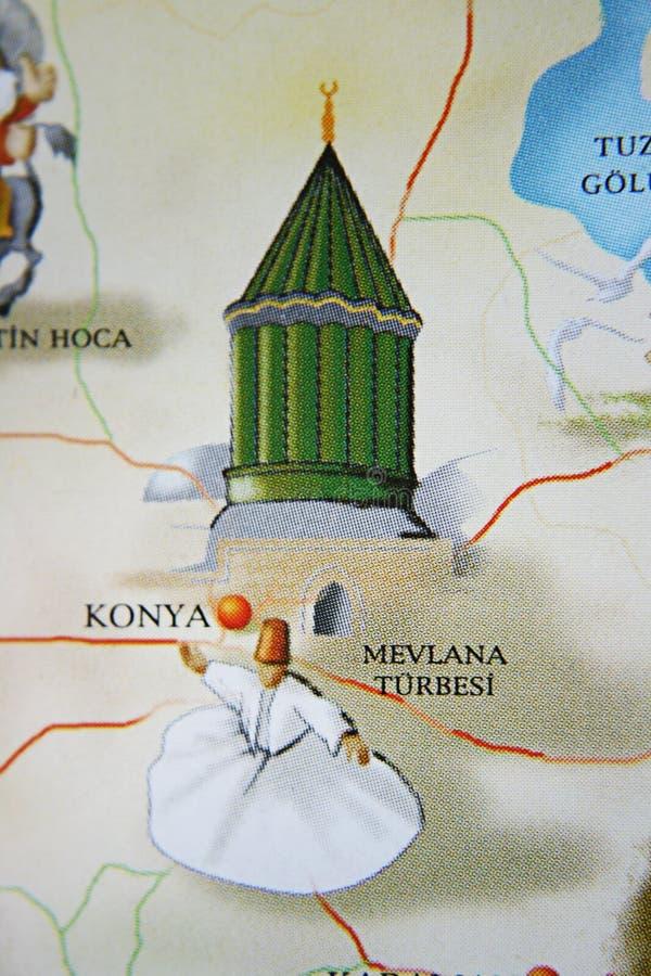 Konya ,Mawlana Tomb royalty free stock photography