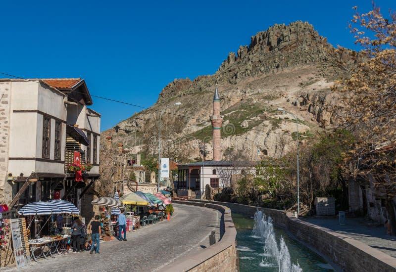 The stunning village of Sille Subasi, Turkey stock image