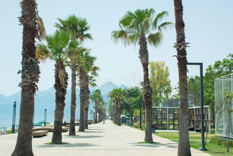Konyaalti beach, Antalya, Turkey, royalty free stock images
