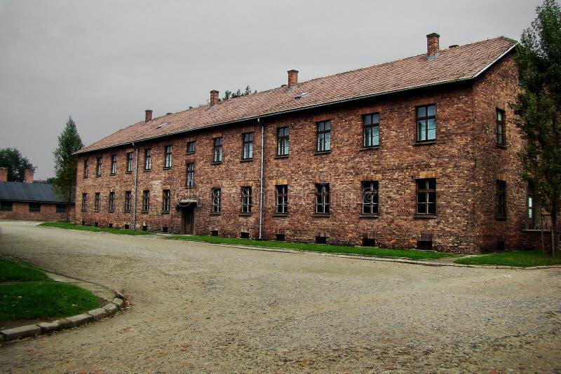 Konzentrationslager - Auschwitz-Birkenau, Geschichte lizenzfreies stockbild