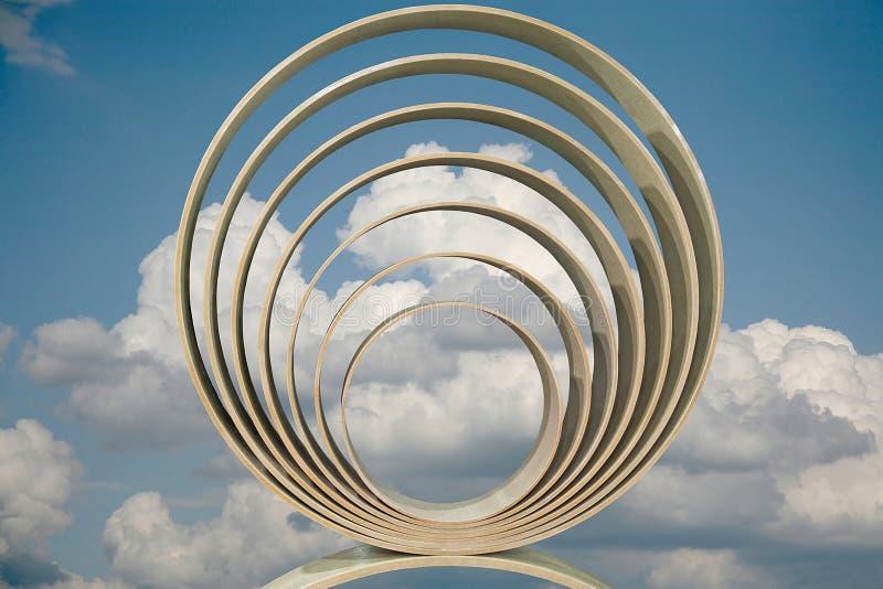 Konzentrische Ringe stockfotografie