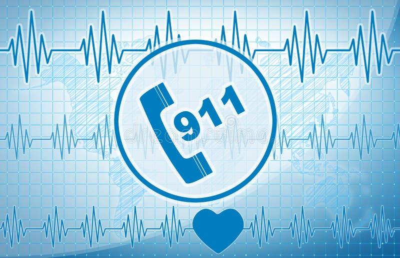 Konzept 911 vektor abbildung