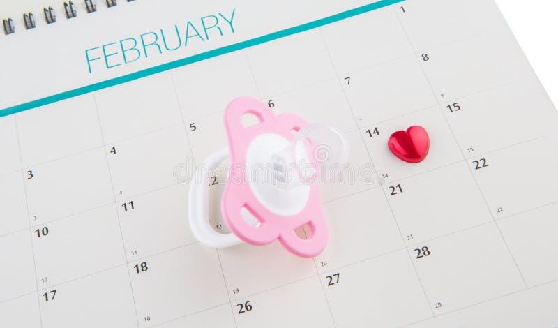 Konzept-Bild-Baby-passende Lieferfrist I lizenzfreies stockfoto