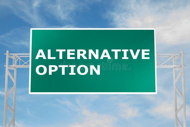 Konzept der alternativen Wahl vektor abbildung