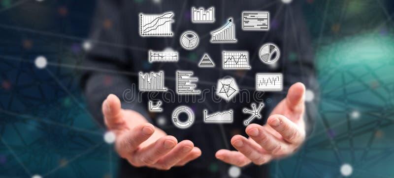 Konzept der Datenanalyse lizenzfreie stockfotos
