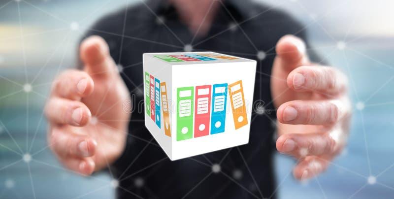 Konzept der Datenspeicherung lizenzfreie stockfotos