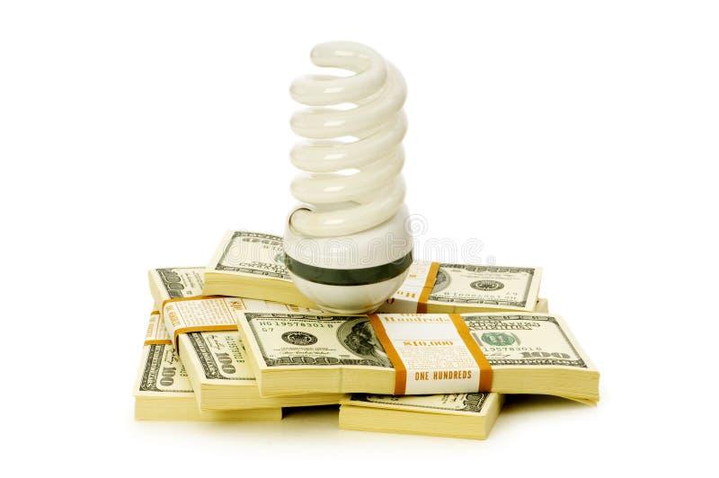 Konzept der Energieeffizienz lizenzfreie stockbilder