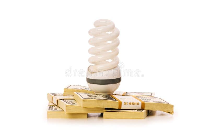 Konzept der Energieeffizienz stockbilder