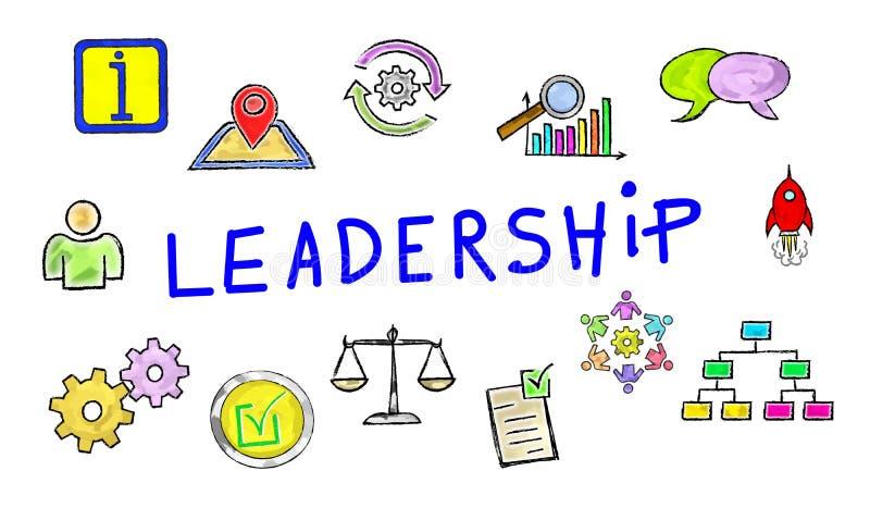 Konzept der Führung vektor abbildung