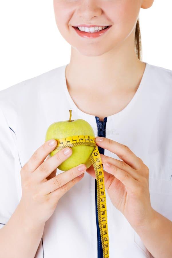 Konzept der gesunden Ernährung oder der Diät. lizenzfreies stockfoto