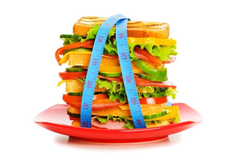 Konzept der gesunden Nahrung lizenzfreie stockfotografie