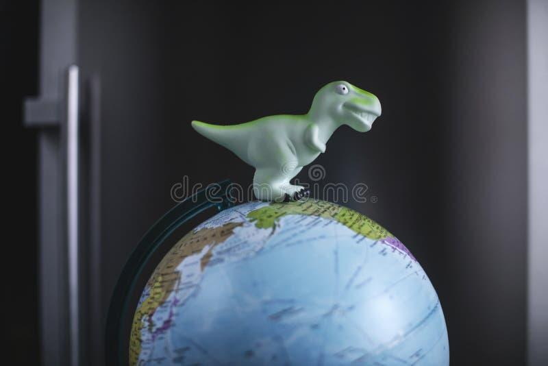 Konzept der globalen Erwärmung und des Unfalles lizenzfreie stockbilder