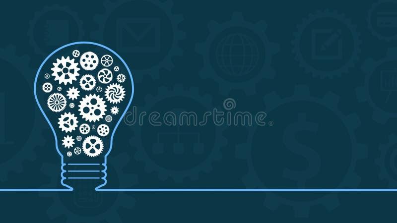 Konzept der Idee und der Lösung vektor abbildung