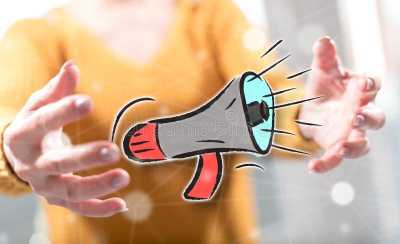 Konzept der Kommunikation lizenzfreies stockfoto