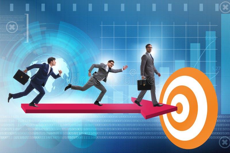 Konzept der korporativen strategischen Planung lizenzfreies stockfoto