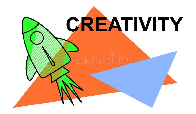 Konzept der Kreativit?t stock abbildung