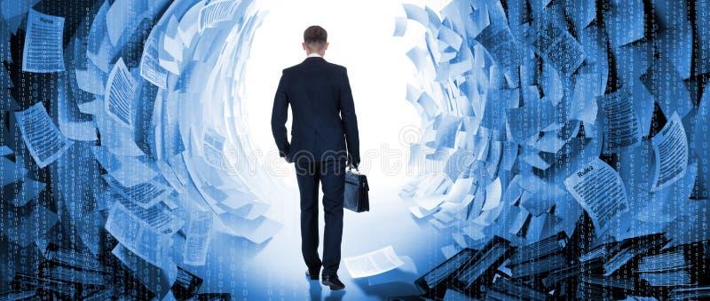 Konzept der Lösung des Problems durch Geschäftsmann stockfotos