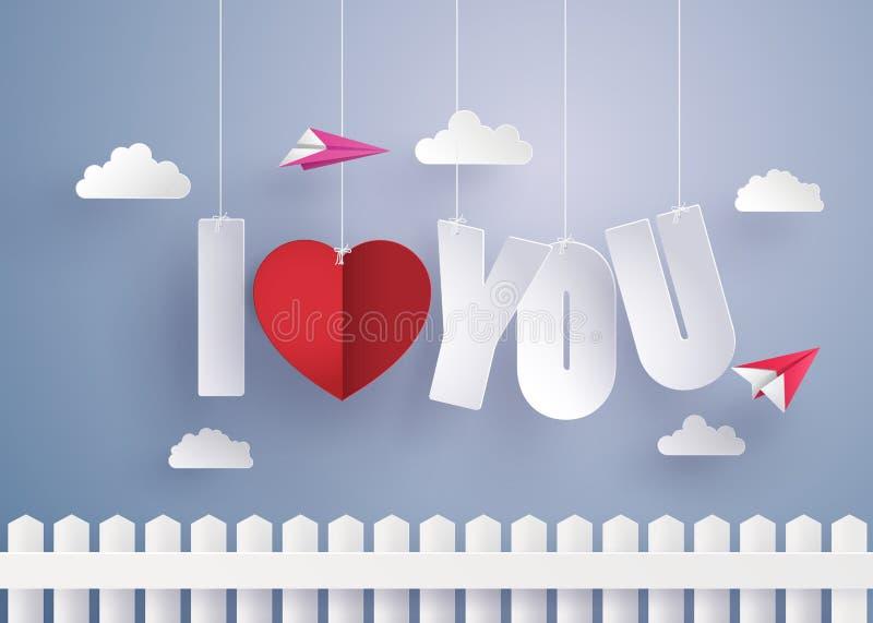 Konzept der Liebe und des Valentinstags stock abbildung