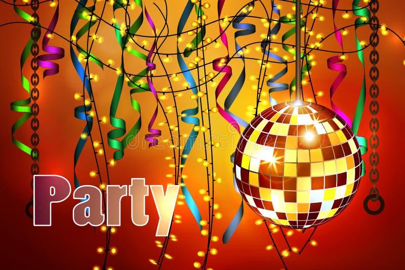 Konzept der Partei, Feier stockfoto