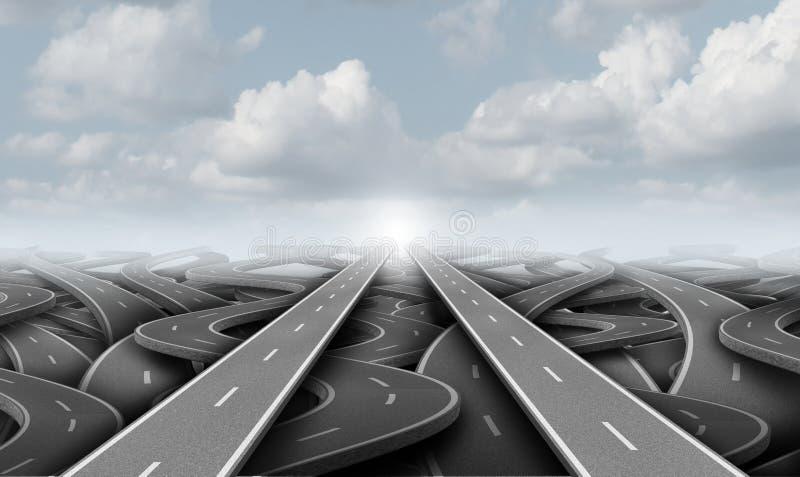 Konzept der Partnerschafts- und Vereinigungsverbindungsgeschäftsmetapher, die Vereinbarung oder Hauptversammlungseinheit als 3D d lizenzfreie abbildung