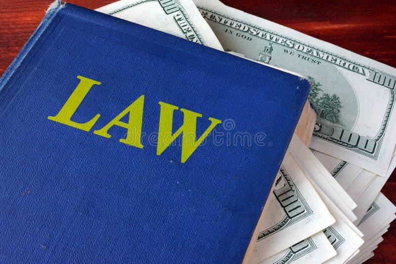 Konzept der politischen Korruption lizenzfreie stockfotos