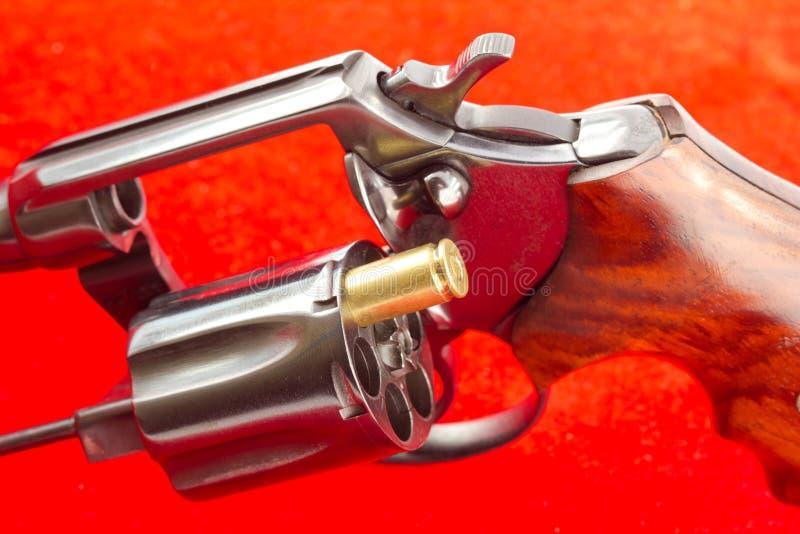 Konzept der russischen Roulette stockfoto