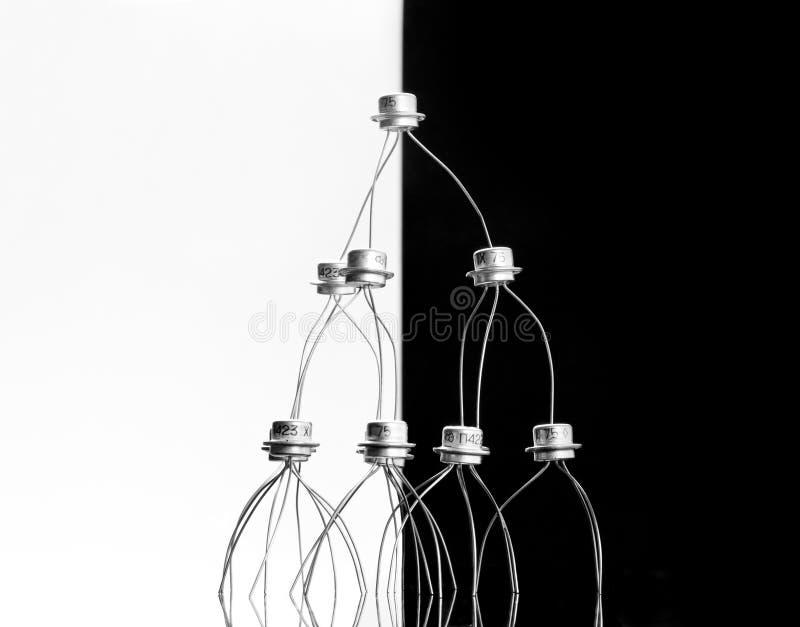 Konzept der Transistoren lizenzfreie stockbilder