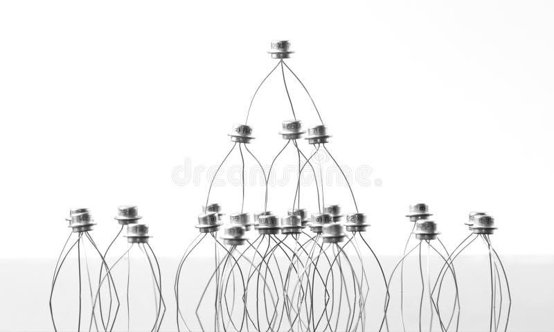 Konzept der Transistoren stockfotos