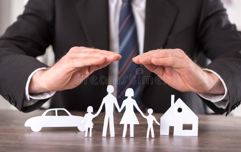 Konzept der Versicherung lizenzfreie stockfotografie
