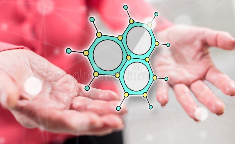Konzept der wissenschaftlichen Forschung stockfotos