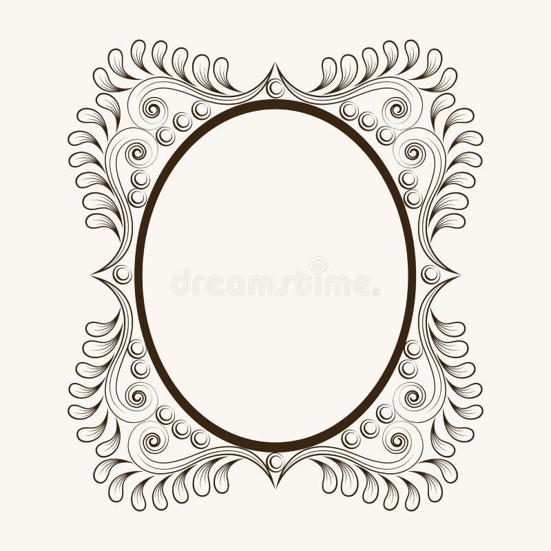 Nett Verzierter Ovaler Rahmen Bilder - Rahmen Ideen ...