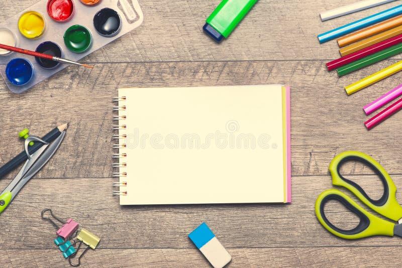 Konzept des DesignerArbeitsplatzes lizenzfreie abbildung