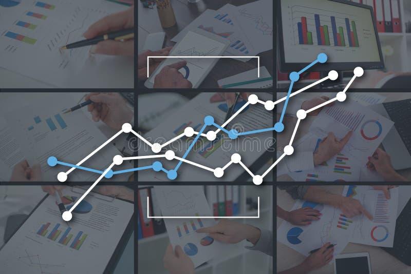 Konzept des Diagramms stockfotos