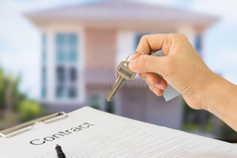 Konzept des Grundbesitzes lizenzfreie stockbilder