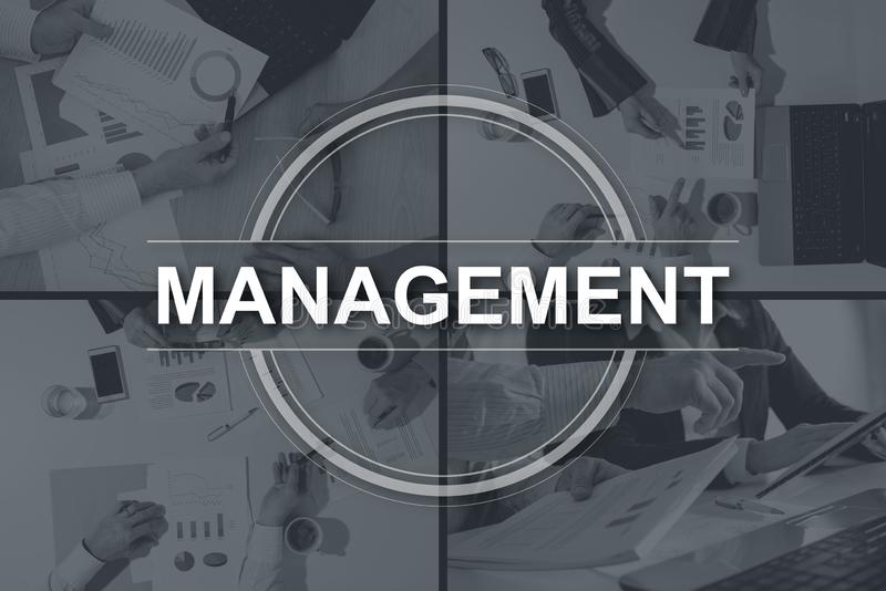 Konzept des Managements lizenzfreie abbildung
