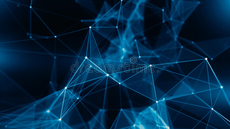 Konzept des Netzes, Internet-Kommunikation vektor abbildung