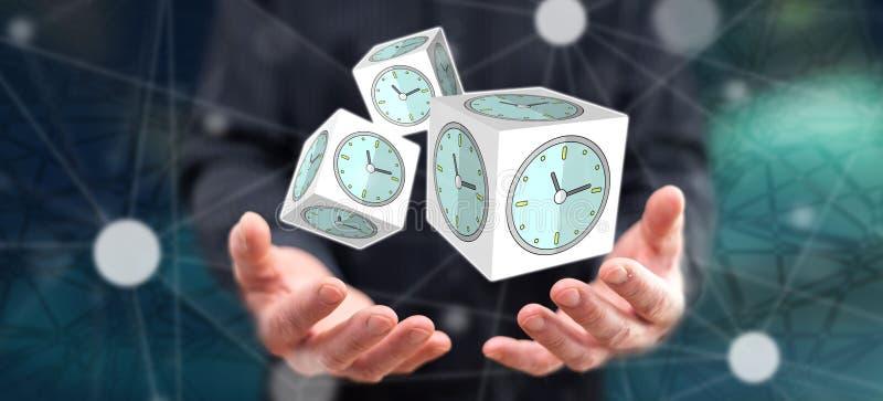 Konzept des Zeitmanagements lizenzfreie stockfotografie