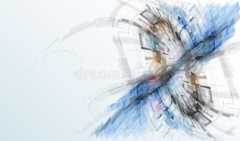 Konzept für Firmenkundengeschäft u. Entwicklung der neuen Technologie stockbilder