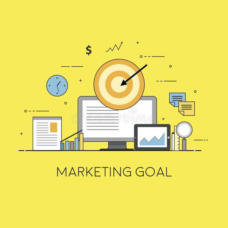 Konzept f?r Digital-Marketing Netz und bewegliches sich Entwickeln stockfotos