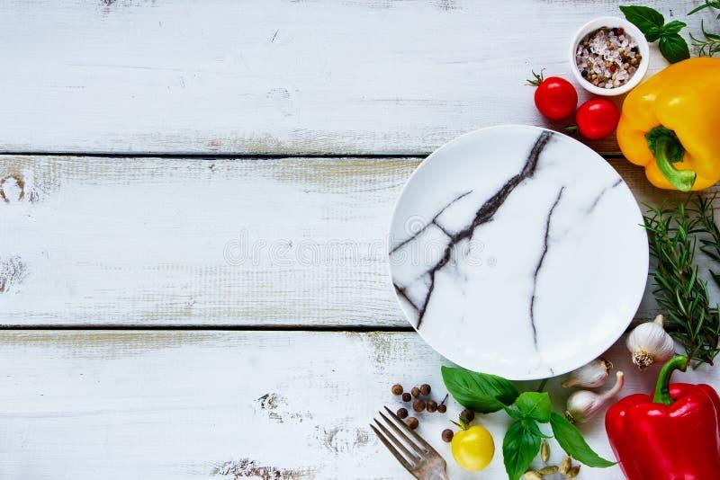 Konzept gesund kochen lizenzfreies stockbild
