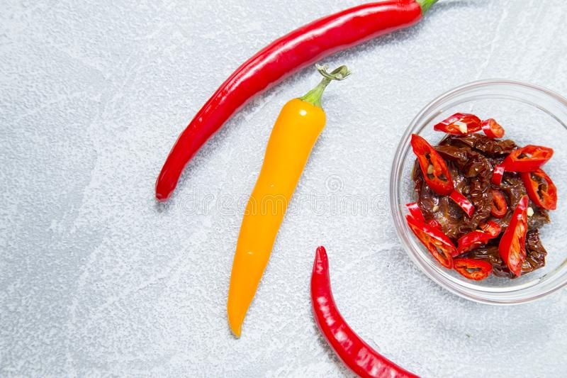Konzept kochen - Satz gesunde Produkte stockfotos