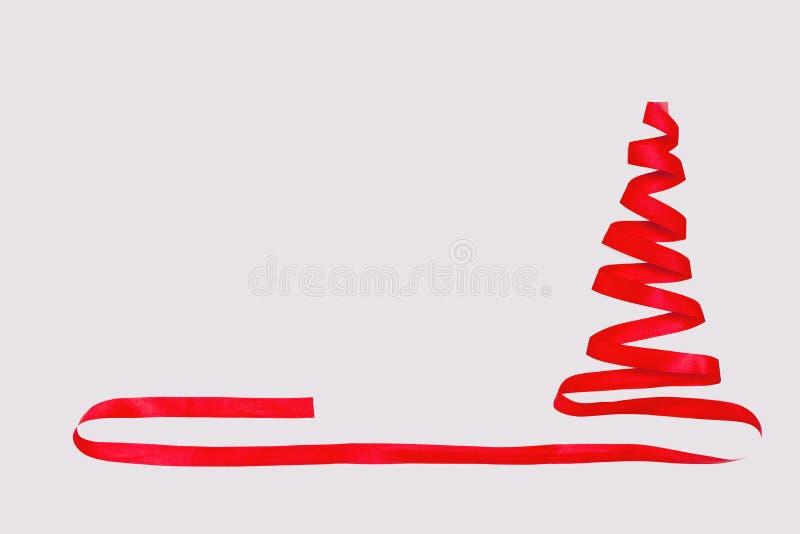 Konzept mit Weihnachtsbaum stellte abstrakt dar lizenzfreies stockfoto