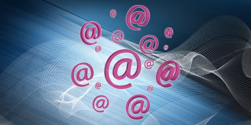 Konzept von E-Mail stock abbildung
