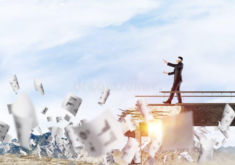 Konzept von versteckten Risiken und von Gefahren stock abbildung