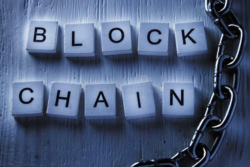 Konzept von Vertriebsnetztechnologie blockchain weiß Darknet lizenzfreies stockfoto