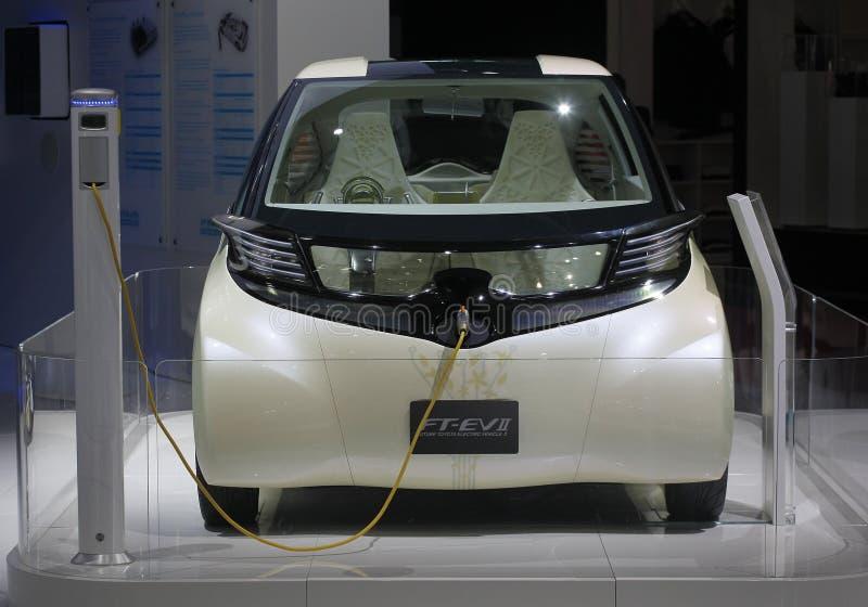 Konzeptauto electrique Toyota FT-EV2 lizenzfreie stockbilder