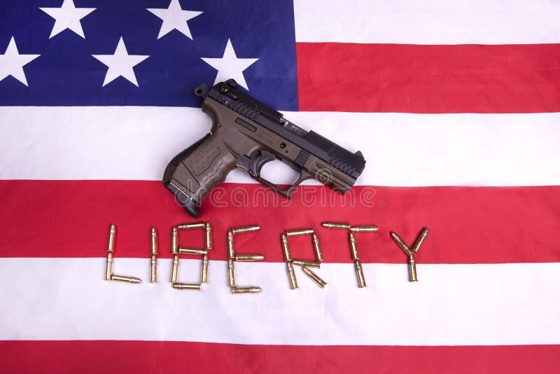 Konzeptbild der Freiheit in Amerika. stockbilder