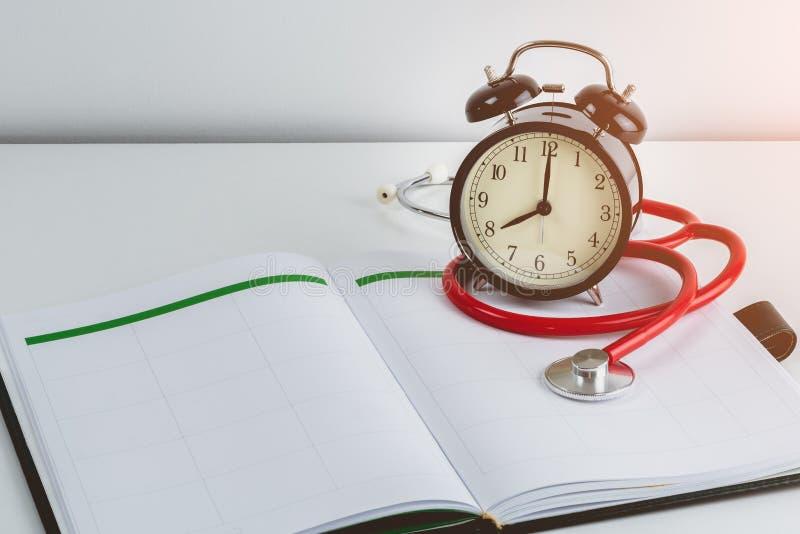 Konzepte Doktors Appointments stockfoto