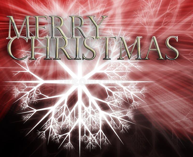 Konzepthintergrund der frohen Weihnachten stock abbildung